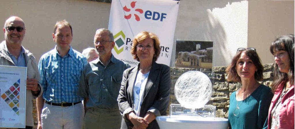 Prix EDF pour la mise en lumière de l'école Pasteur