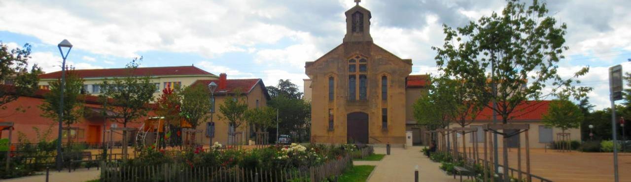 Eglise de Parilly Sainte-Jeanne d'Arc