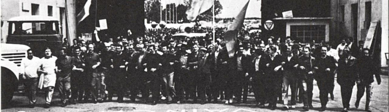 1968 grèves chez Berliet