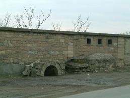 Une partie des fortifications de Vénissieux
