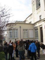 Visite de l'école Pasteur